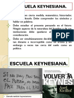 Escuela Keynesiana - Expo