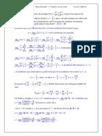 Reavaliação Da 1ª Média de Cálculo 1 21.05.16