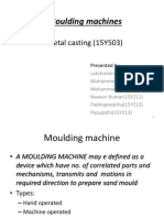 Moulding Machines Ppt
