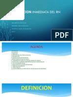 Atencion Inmediata Del RN BIDL 17