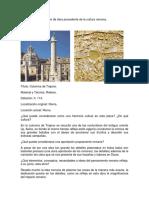 Análisis de Obra Procedente de La Cultura ROMANA