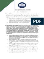 Administration Immigration Principles