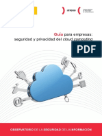 Guía Para Empresas Seguridad y Privacidad Del Could Computing