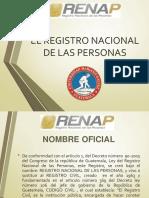 EXPOSICION REGISTRAL