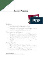 Effective Lesson Planning ELP