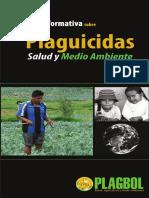 Cartilla Informativa Plaguicidas Salud y Medioambiente
