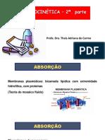 Farmacocinética - 2017 - 2a. Parte