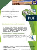 Localizacion de Instalaciones