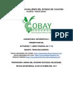 Colegio de Bachilleres Del Estado de Yucatán - Documentos de Google