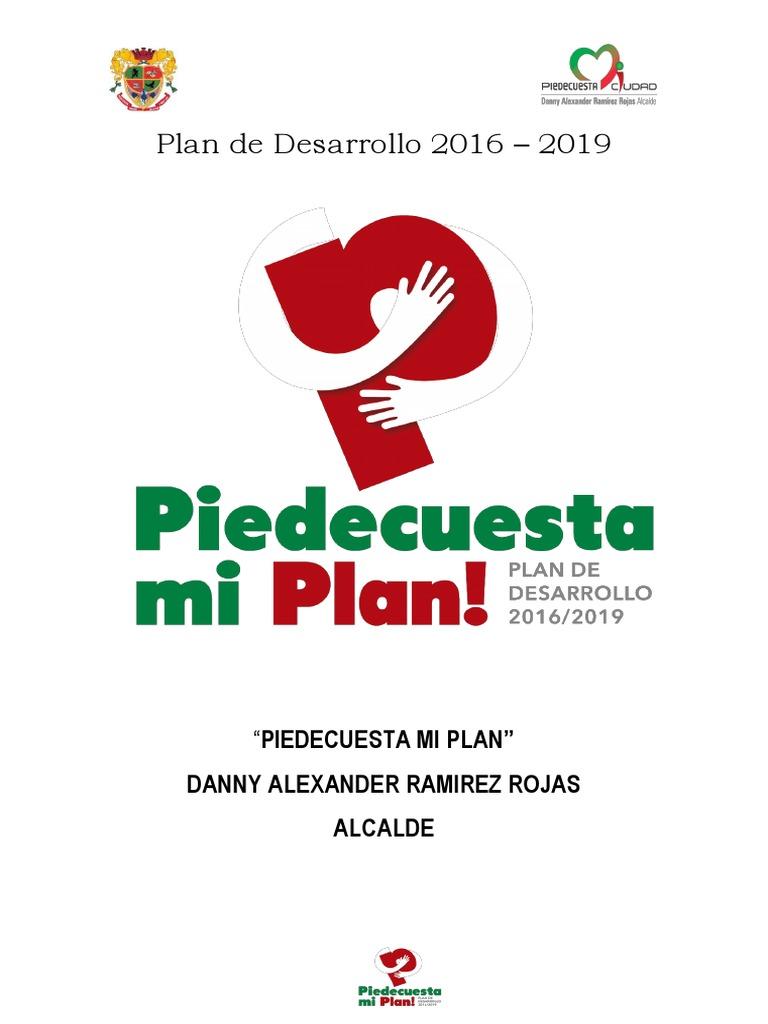 3039f954c1 Plan de Desarrollo 2016-2019