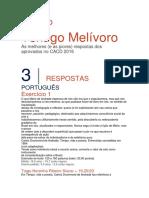 Exercício 1 Portugues 3 Fase CACD Guia 2017 Tiago Noronha Ribeiro Siscar