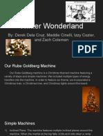 rube goldberg machine presentation