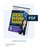 E-Book Sukses Menabung Saham by Ellen May