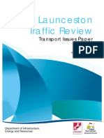 Launceston Traffic Review Transport Issues Paper 2012