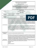 Informe Programa de Formación Complementaria Metrología