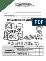ExamenDiagnosticoPRIMER17-18