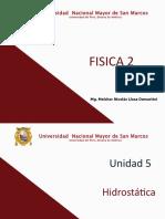 Fis 2 05 Hidroestatica 2017-II