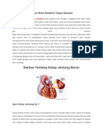 Katup Jantung Bocor Bisa Sembuh Tanpa Operasi