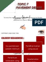 Topic 7 Flexible Pavement Design