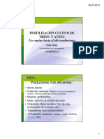Fertilizacion Trigo Avena