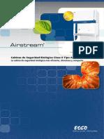 9010206 Biological Safety Cabinet AC2 G3 Brochure A4 Spanish LR