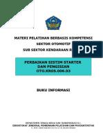 Buku Informasi Sistem Starter Dan Pengisian