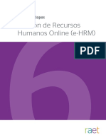 PPE Gestion de Recursos Humanos Online