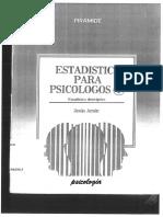 Amón, Jesús - Estadística para Psicólogos I.pdf