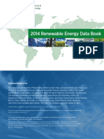2014 Renewable Energy Data Book (Book), U.S. Department of Energy (DOE)