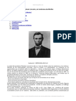 Abraham Lincoln y Sindrome Marfan