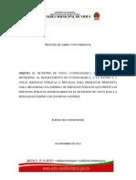 Modelo de Pliego de Condiciones Definitivo Servicios Pblicos