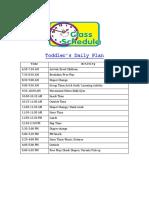 toddler daily plan