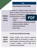 678_PLANESTUDIOSPDF Diplomado de Inspector de Soldadura