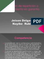 Acción de Repetición  Derecho administrativo colombiano