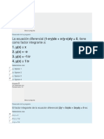 Test 2 Ecuaciones Diferenciales
