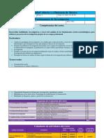Calendarización - Fundamentos de Investigación