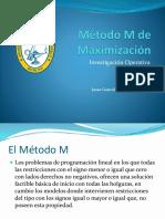 Método M de Maximización