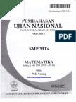 Pembahasan Soal UN Matematika SMP 2014 Paket 1.pdf
