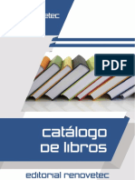 Catalogo Libros Renovetec Editorial