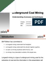 Underground Coal Mining Bhp