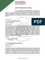Geothermal Engineering Training Proposal - PB - GADA