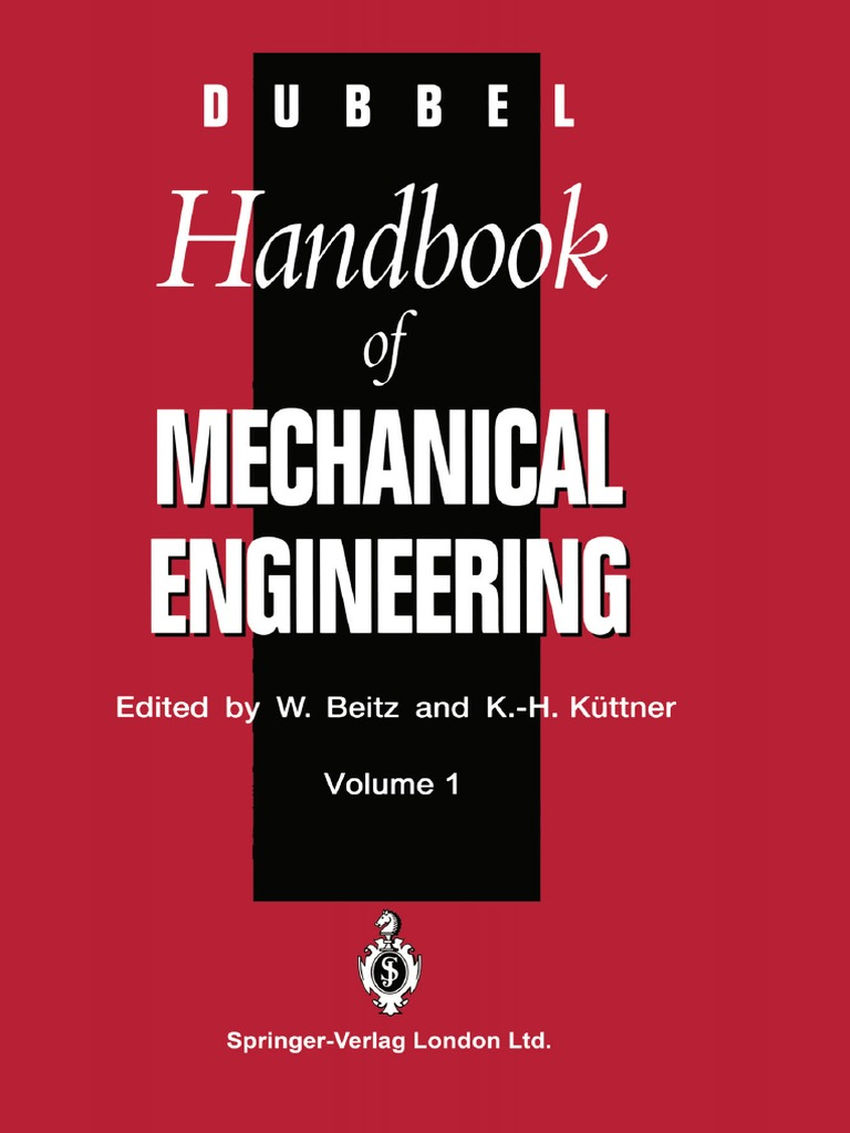 Dubbel handbook of mechanical engineeringpdf gear heat transfer fandeluxe Image collections