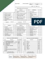 TABLAS DE INDICADORES SISAT diagnóstico para 2° grado