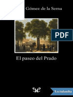 El Paseo Del Prado - Ramon Gomez de La Serna (1)