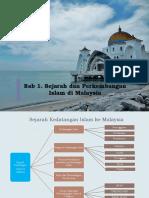 Bab 1 - Sejarah Perkembangan Islam Di Malaysia