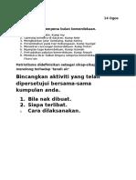 Isnin 14 Ogos 2017 - Aktiviti Bln Merdeka