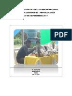 Participación en Feria Agroemresarial