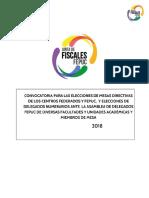 Convocatoria Elecciones Gremiales 2018