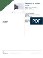 Resorte Cirular SimulationXpress