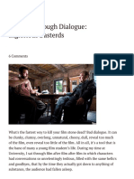 Conflict Through Dialogue_ Inglorious Basterds - The Script Lab
